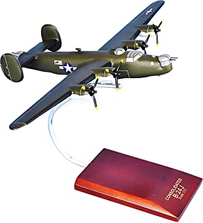 Mastercraft Collection Consolidated B-24J Liberator (Olive) World War II Bomber Military Airplane Plane Aircraft Model Sca...