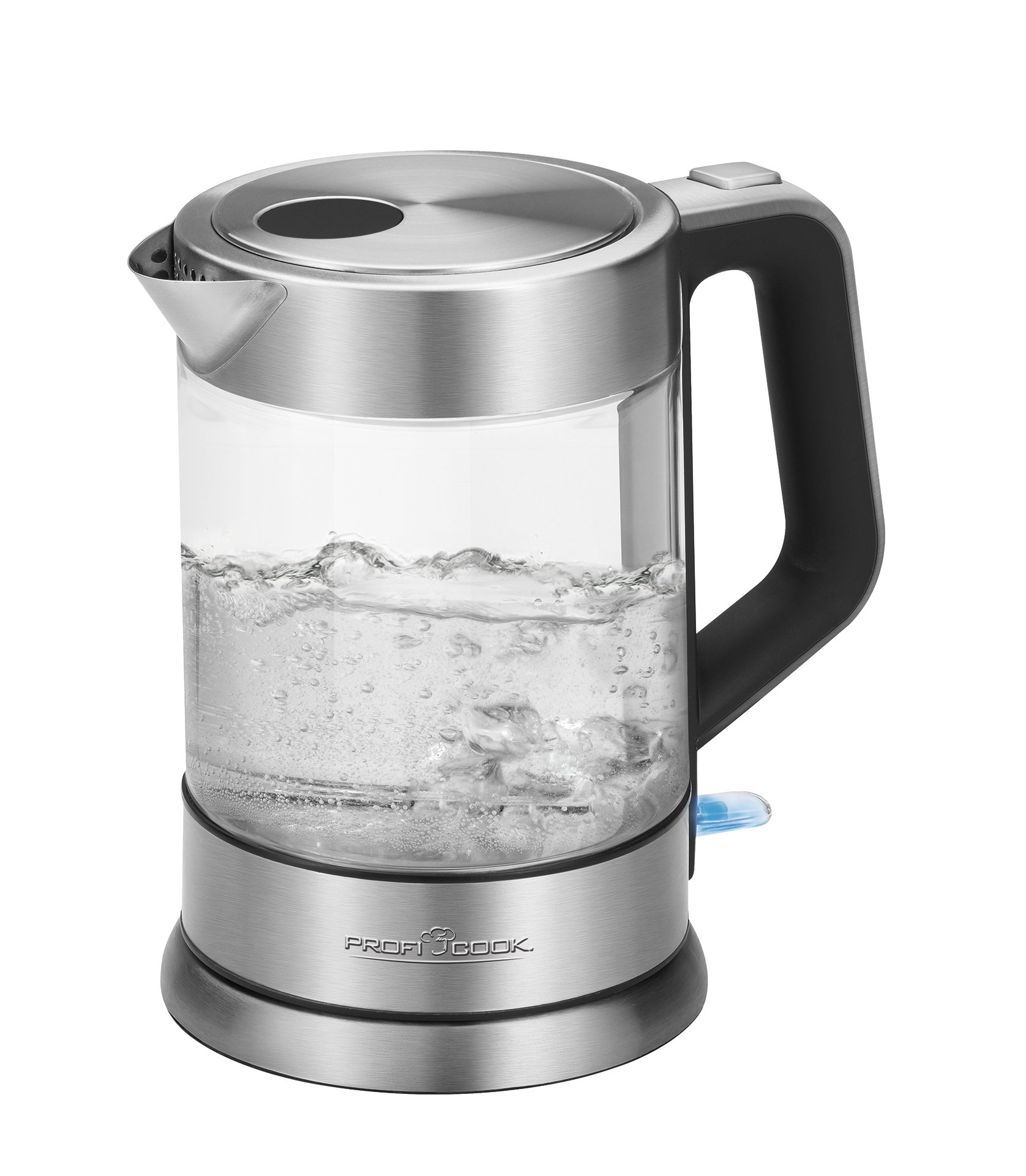 PROFICOOK Wasserkocher kabellos 1,7 Liter Edelstahl PC WKS