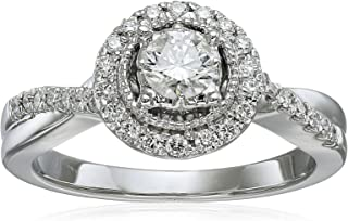 Women's 10k White Gold and Diamond Fashion Ring (1 3/4cttw, H-I Color, I2-I3 Clarity)