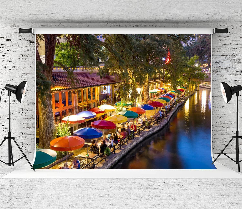 GUVICINIR Photography Background Caminata San Cash special price Free shipping fluvial Antonio en
