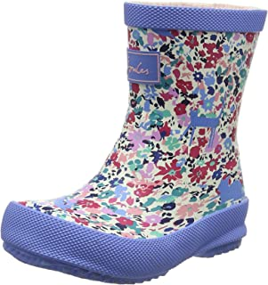 Joules Baby Printed Wellies - Pretty Kitty Ditsy