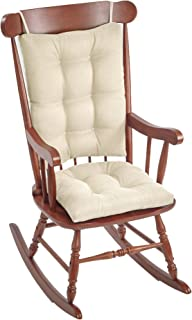 The Gripper Omega Non-Slip Rocking Chair Pad Set with Seat and Seatback Cushions,..