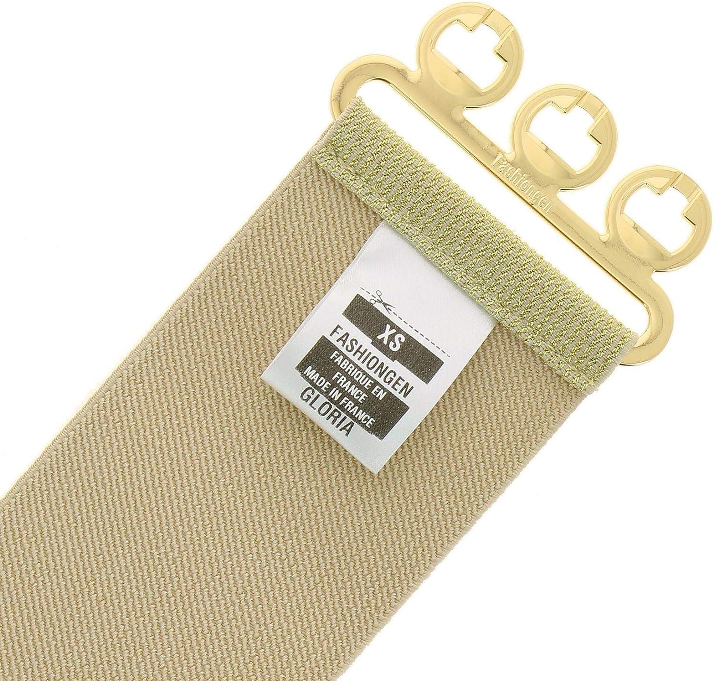 GLORIA Wide Waist Elasticated Woman Belt Made in France FASHIONGEN
