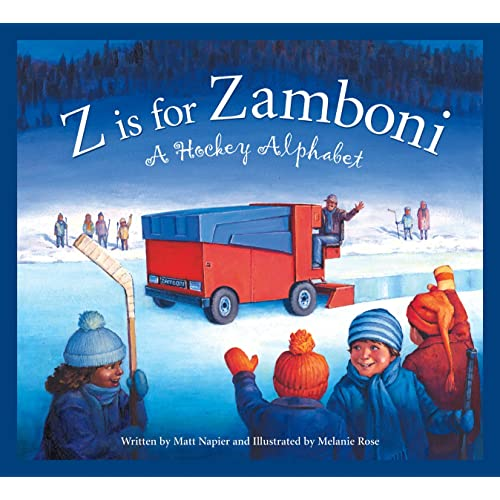 9b65eda267 Z is for Zamboni  A Hockey Alphabet (Sports Alphabet)