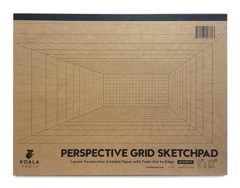 Koala Tools | Room Grid (1-Point) Large Sketch Pad | 9