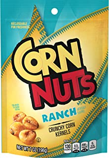 Corn Nuts Ranch Crunchy Corn Kernels (7 oz Bags, Pack of 12)