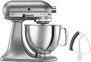 KitchenAid KSM150FECU Artisan Bundle Stand Mixers, 5 quart, Contour Silver