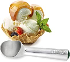Zeroll 1016 Original Ice Cream Unique Liquid Filled Heat Conductive Handle Simple One Piece Aluminum Design Easy Release 3...