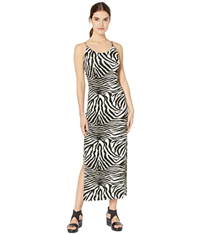Bardot Print Midi Dress (Zebra) Women