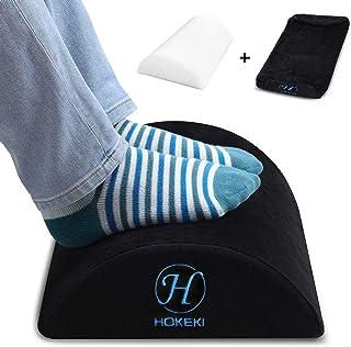 استراحت کف HOKEKI در زیر میز ، کوسن نرم و نرم و صاف با ضخامت زیر آستین کف صندلی مخصوص میز و لوازم منزل ، دارای سطح غیر لغزنده (سیاه)