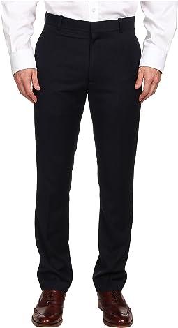 Slim Fit Flat Front Neat Pant