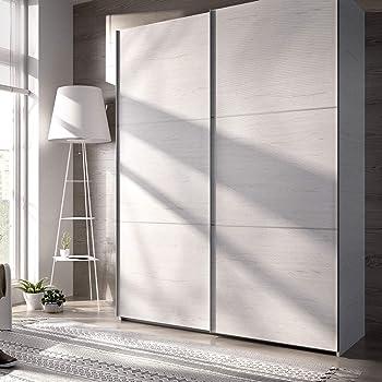 Armario 2 puertas correderas flix: Amazon.es: Hogar