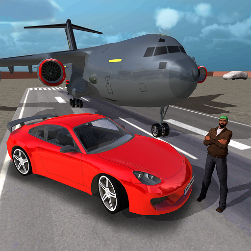 Jeu de transporteur de voiture avion-Simulateur de transport avion