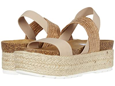 Steve Madden Circa Wedge Sandal (Natural Multi) Women