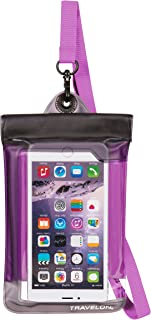 Travelon Floating Waterproof Smart Phone/Digital Camera Pouch, Purple