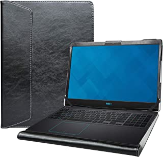 "Alapmk Protective Case Cover for 15.6"" Dell G3 15 3590 Laptop Black Black"