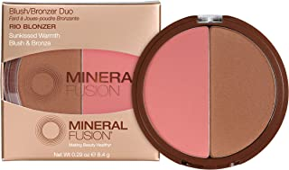 Mineral Fusion Blush/Bronzer Duo, Rio, 0.29 oz (Packaging May Vary)