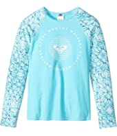 Roxy Kids - Caribbean Days Long Sleeve Rashguard (Big Kids)