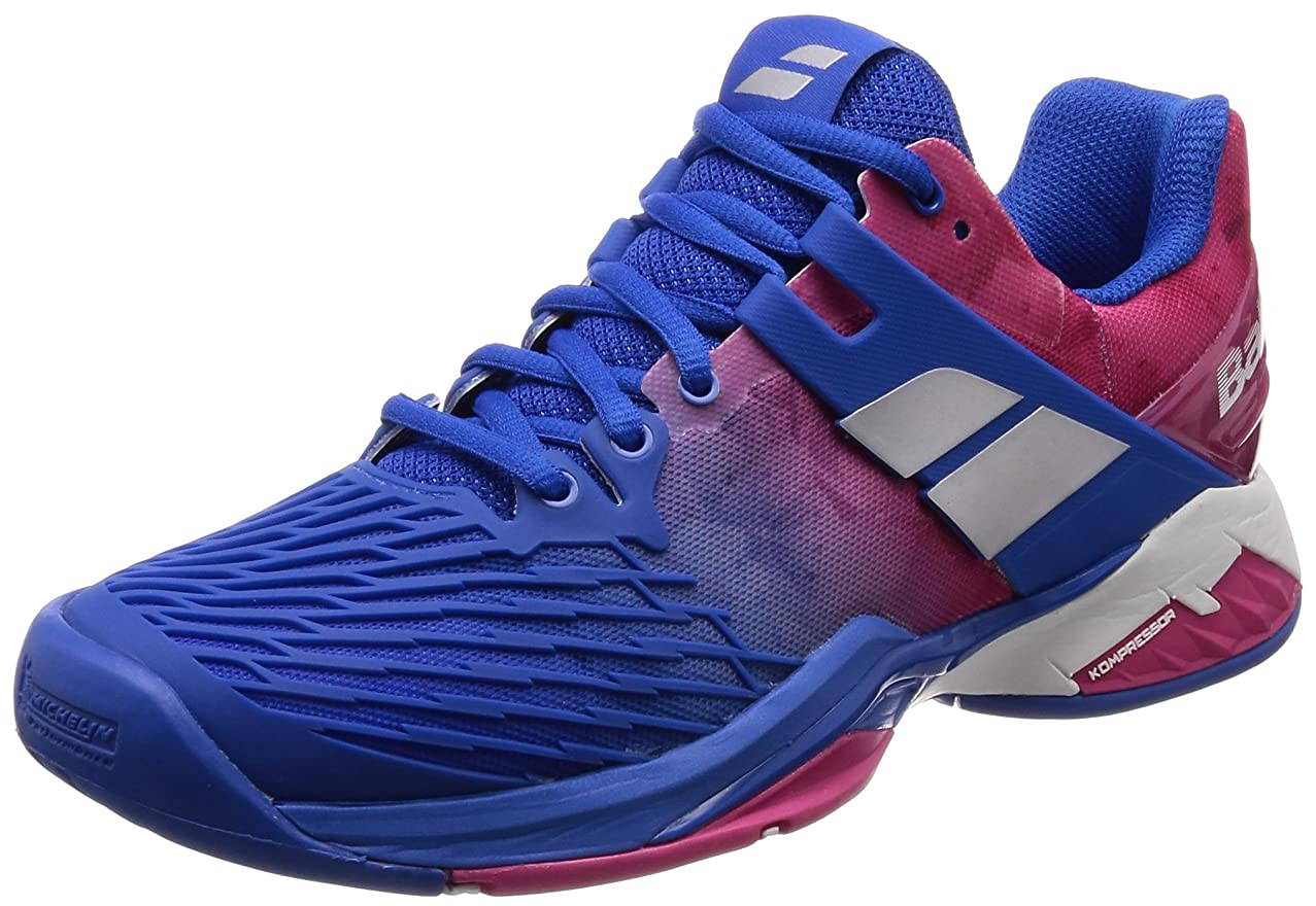 Babolat Propulse Fury All Court Womens Tennis Shoe Princess Blue/Fandango Pink
