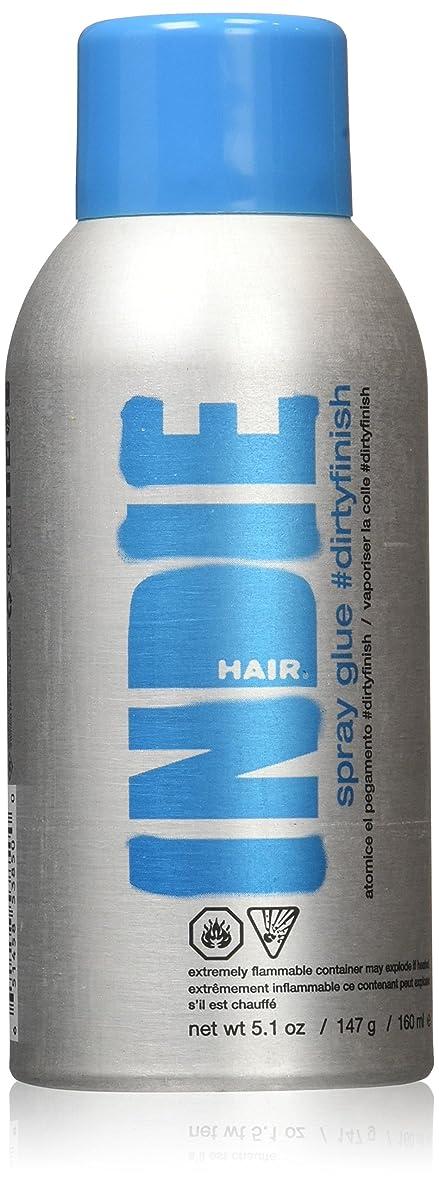 ジョージハンブリー灰ビュッフェIndie Hair ダーティフィニッシュスプレーのり、5.1オンス 5.1オンス