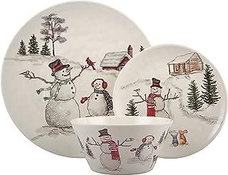 Best snowman christmas dinnerware Reviews