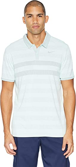 Zonal Cooling Stripe Polo