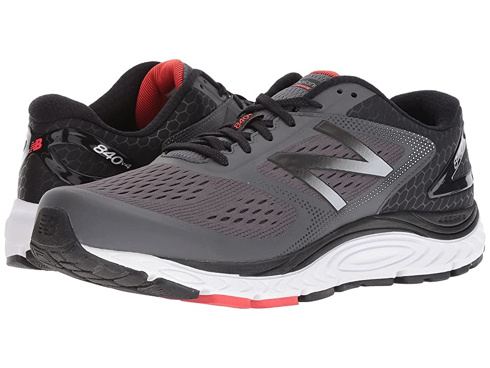 New Balance 840v4 (Magnet/Energy Red) Men's Running Shoes