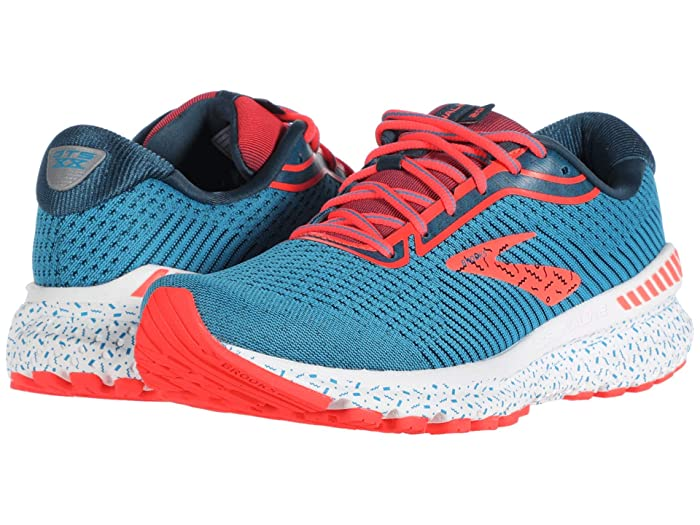 Brooks  Adrenaline GTS 20 (Blue/Majolica/Coral) Womens Running Shoes