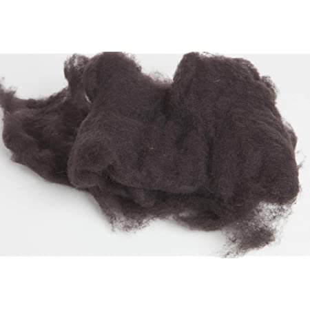 1 OZ Carded Wool Batt A Special Blend of New Zealand Wools by DHG for Needle Felting and Wet Felting Maori Wool Color Coffee Brown 100/% Pure Wool