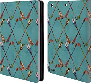 Official Paul Brent Tribal Trek Arrow I Pattern Leather Book Wallet Case Cover Compatible for iPad Mini 1 / Mini 2 / Mini 3
