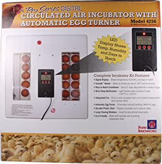 4250 Pro Series Poultry Incubator, 40-Watt - Quantity 4
