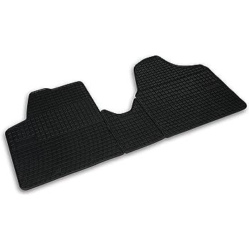 Fußmatten für Citroen Jumpy ab 2007 Auto Gummi Schwarz Antirutsch Set Automatten