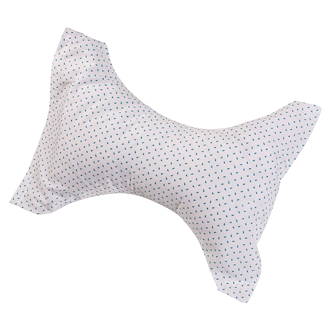 遅滞雨準備するStandard Cervical Rest Pillow, Rosebud 海外直送