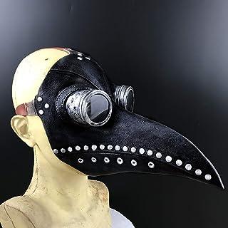 Achort Maschera del Medico della Peste, Halloween Maschera dei Dottore Maschera di Carnevale Cosplay - Maschera Steampunk ...