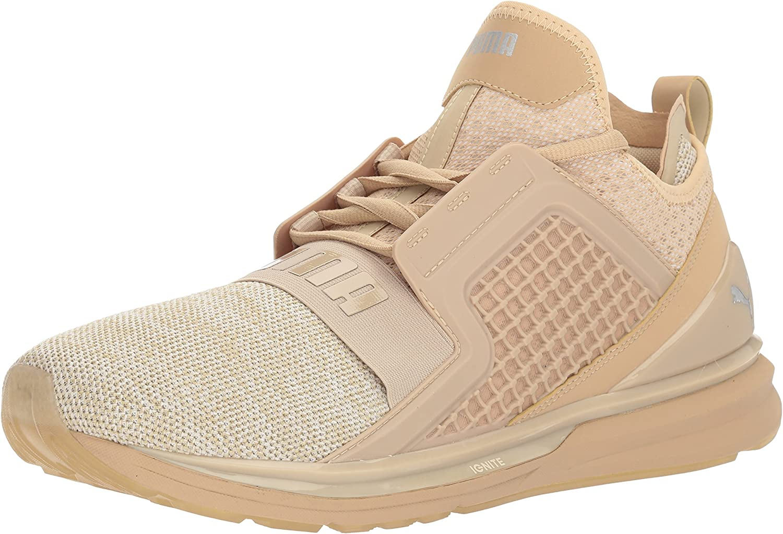 Amazon.com | PUMA Men's Ignite Limitless Knit Sneaker | Fashion ...