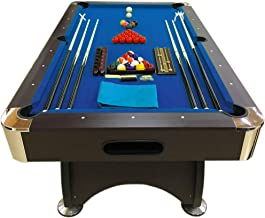 7 Ft Pool Table Billiard Blue Cloth Indoor Sports 7ft Game billiards table NEW - 7FT BLUE SEA