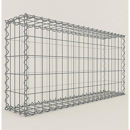 5x Stainless Steel gabionenhaken Stone Basket Gabion Distance Holder Hook 4 MM//20 cm