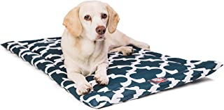"""24"""" Trellis Navy Blue Crate Dog Bed Mat By Majestic Pet Products"""