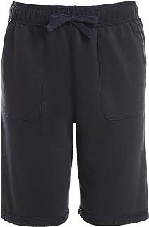Chaps Boys' School Uniform Sensory-Friendly Soft Knit Short