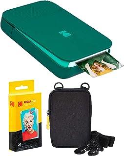 KODAK Smile - Kit de impresora digital instantánea color verde