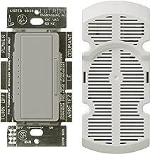Lutron MA-FQ4FM-GR Maestro Multi-Location 7-Speed Digital Fan Control, Gray