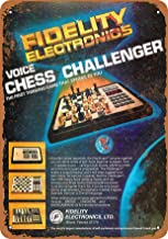 7 x 10 Metal Sign - 1979 Fidelity Voice Chess Challenger - Vintage Look