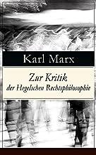 Best marx zur kritik der hegelschen rechtsphilosophie Reviews