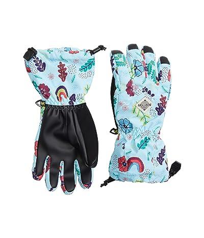 Burton Kids Profile Gloves (Little Kids/Big Kids) (Embroidered Floral) Snowboard Gloves