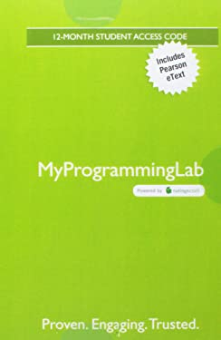 MyLab Programming with Pearson eText -- Access Code Card -- for Starting Out with Python (My Programming Lab)
