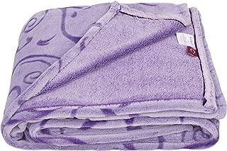 SOCHOW Uragiri Flannel Fleece Throw Blanket, Warm Lightweight Super Soft Blanket 60 × 80 Inches, Purple