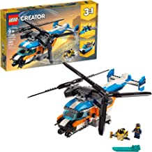 LEGO Creator 3in1 Twin Rotor Helicopter 31096 Building Kit, New 2019 (569 Pieces)