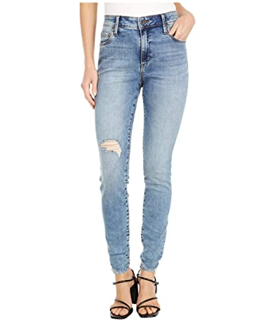 KUT from the Kloth Mia High-Rise Toothpick Skinny in Enlightened (Enlightened Wash) Women