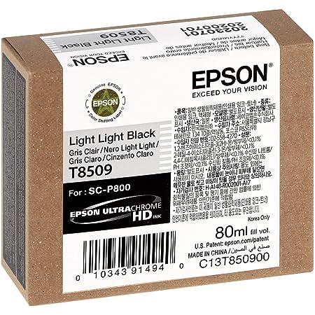 Epson T850900 T850 UltraChrome HD Light Light Black Ink