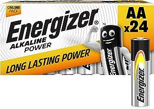 Energizer AA Batteries, Alkaline Power Double A Batteries, 24 Pack